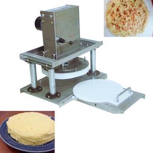 Pâte à pizza électrique Machine 22cm plaque de compression blé farine pâte machine coupeuse Grab gâteau fabrication fabricant tortilla machine