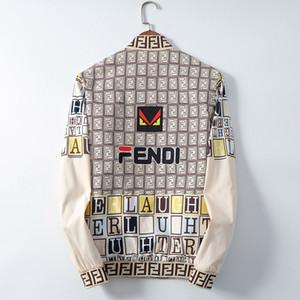 이탈리아어 고급 고품질의 디자이너 재킷 긴 소매 아웃 도어웨어 남성 의류 가을 겨울 가죽 자켓 얇은 재킷 의류의 메두사