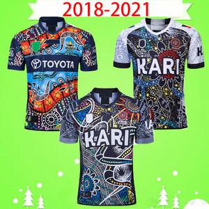 2018 2019 2020 2021 원주민 럭비 리그 저지 럭비 멀리 리그 셔츠 폴로 T 셔츠 18 19 20 21 클럽 토착 ALL STARS는 남성
