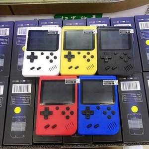 Mini Handheld video Game Console Portable Retro 8 bit MODEL CAN STORE 400 AV Color LCD Game Player For Game