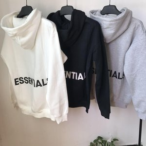 2020 3M Reflective Hooides Mens Winter Sweatshirts Men Hip Hop Streetwear Letter printing Fleece Hoody Man Clothing Essentials S-XL 9u Tm5g#