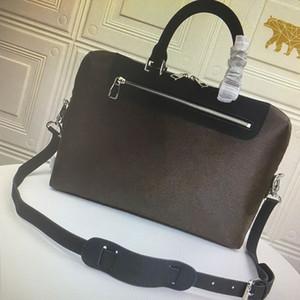 M54019 PORTE-ДОКУМЕНТЫ JOUR Н.М. Портфель Повседневная Бизнес Crossbody Мужчины сумки на ремне 15-дюймовый ноутбук сумка Tote сумки Компьютерные сумки Человек сумка