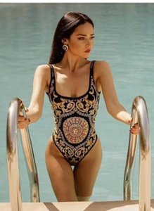les femmes nager Designer Bikini maillot de bain pièce pour les femmes sexy maillot de bain Dresss-XL Bodysuit plage remorquage été sexy maillot de bain Piece feier222
