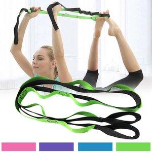Многофункциональный Пилатес Йога Упругие тренировки Rope тела сопротивления диапазона йоги Stretch Sculpt Крутящий BHD2