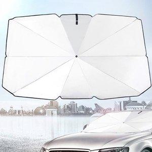 Parabrezza anteriore della finestra visiera parasole copertura Lamina anti UV Reflector Parasole Protector pieghevole Reflective Umbrella