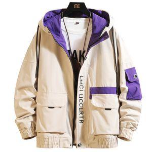 Mens Fashion Tooling Jacket Primavera Outono Nova selvagem Jackets Coats ocasional considerável Tide Masculino Clothes