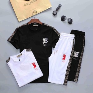 2020 Mens Summer Designer Suits Beach Seaside Holiday Shirts Shorts Clothing Sets 2pcs Floral Tracksuits