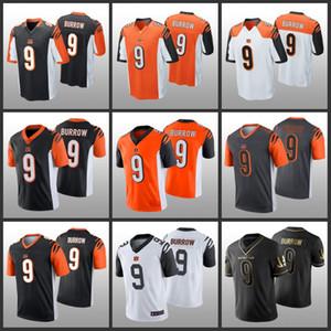 ЦинциннатиБенгалзДжо Барроу Orange 2020 Vapor Untouchable прошитойNFL Limited Мужчины Женщины Молодежь Джерси