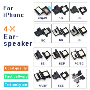 1Pcs наушника Flex кабель Динамик для IPhone 4 4S 5 5C 5S SE 6 6Plus 6S 6SPlus 7 7Plus 8 8Plus X Ear Sound Receiver Оригинал