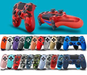 تحكم بلوتوث اللاسلكية PS4 لعبة 22 الألوان لسوني بلاي ستيشن 4 نظام اللعبة في صندوق البيع بالتجزئة PS4 تحكم DHL سفينة الحرة