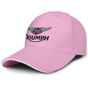 Unisex Triumph Motosiklet Logo Moda Beyzbol Sandviç Şapka beyzbol Orijinal Kamyon sürücüsü Cap siyah kamuflaj kullanılan zafer etkisi