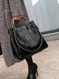 Lady Women Bucket Bag Female Body Bag Tote1 Large Vintage Soft Leather Big Bags Shoulder Handbag Women For Hobos Size Cross Bsjso