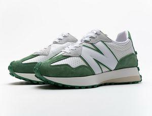 2020 New MS327CBD Casablanca Green Wht Black Grey Sport Shoe With Box High Quality N327 Men Women Causal Shoes Free Shipping Size 35-45
