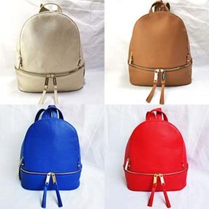 2020 New Arival Lady Backpack High Quality Double Shoulder Bag PU Leather School Bags For Girls Multicolor Travel Backpack#820