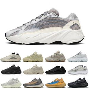 Fashion Women Men 500 Running Shoes Static Phosphor Utility Black Wave Runner Sale Womens Mens wholesale 700 outdoor sneakers sports shoes