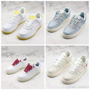 Nouveaux 2019 Og X Forceing 1 Low 07 Queeen skatboard Chaussures Université Blanc Classique de basket-ball Chaussures Femmes Mans Fashion Designer Sneaker