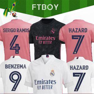2020 2021 Real Madrid jerseys 20 21 Soccer Jersey PERIGO camisa SERGIO RAMOS BENZEMA VINICIUS camiseta futebol uniformes homens + crianças conjuntos de kit