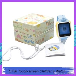 Q730 Kids GPS Tracker SOS Smart Monitoring Positioning Phone Kids GPS Watch With camera Compatible with IOS & Android for DHL