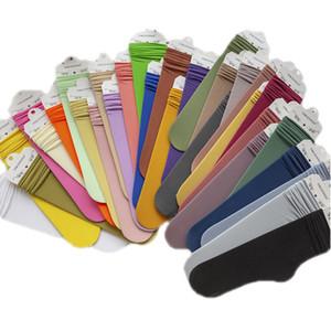 Kadın Yaz Thincolour Orta Çorap Katı Renk Kazık kadar Çorap Çocuk Kadife socking Çok Renkli Trend 2 2mq D2