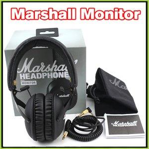 2016 سماعات مارشال جديد MONITOR سماعة الإفراط في الأذن ث ميكروفون HIFI سماعة VS مارشال الرئيسي الثاني ستوديو 2.0