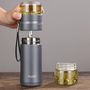 Новый чай Разделение изоляция Кубок Лидирующих стекла с сетчатым фильтром Cup