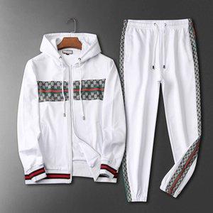 3d New men's sportswear sweatshirt suit casual suit Medusa men's casual fashion trend letter printing sportswear suit
