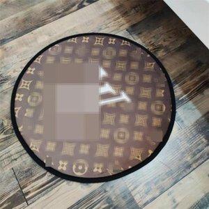 3 Patterns Quick Dry Mats Art und Weise gedruckte Design Badezimmer-Mat Indoor Anti-Rutsch-Personality-Charme Runde Mats