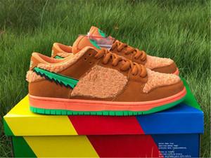 Newest Grateful Dead x SB Low Dunk Green Orange Yellow Bear Spark Soar Bright Ceramic Opti Blue Fury Best quality Sports Casual Shoes 5.5-12
