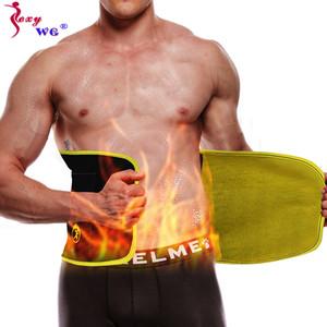 SEXYWG Bel suports Kayış Tatical Kemer Zayıflama Bel Trainer Vücut Şekillendirici Erkekler Spor Popüler Neopren Sana Shapewear Fajas cincher