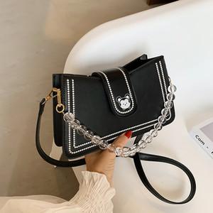 2020 New Shoulder Bag Texture Underarm Bag Ladies Handbag Fashion Temperament Handbag All-match Single Shoulder Diagonal
