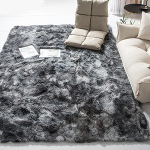 Shaggy Carpets For Living Room Easy to Clean Bedroom Carpet Decor for home Children play Women yoga Area Rug Alfombra D35
