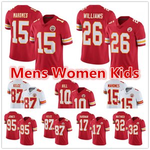 Damien Williams Mens Women Youth Kansas