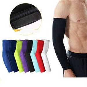 Basketball Arm Guards 1pcs Glove Long Elbow Wristband Sports Cycling Riding Ventilation Nonslip Sports Gloves Colour 4 3gd C2