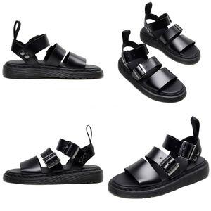 New 2020 Fashion Summer Mens Shoes Gladiator Sandals Designers Platform Comfortable Beach SandalsCanvas Men#690