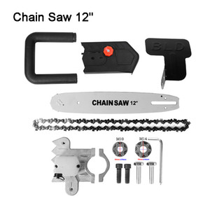 Hot Sell Multifunction Electric Chain Saw Adapter Converter Bracket DIY Set For 12'' Electric Angle Grinder Woodworking Tool M14 AND M10