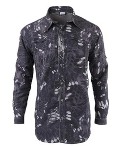 A660-991 Tactical Gear Outdoor Hunting Combat Shirts Camouflage