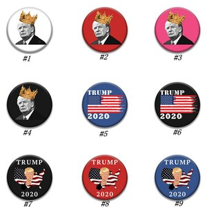 Donald Trump Pins Brooches Presidential Election Trump 2020 Campaign Brooch Pin Men Women Coat Jewelry Best Gift ZZA1878