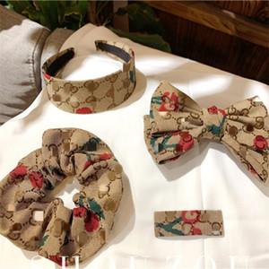 Weinlese-Frauen-Haar-Klipps Exquisite Mode Kopf elegant Briefe beiläufige Stirnband Yoga Haargummibänder für Frauen
