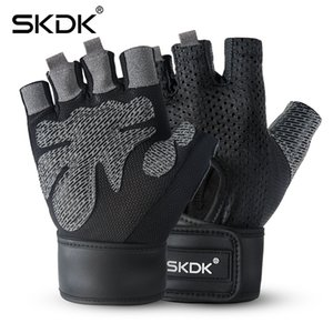 itness & Body Building Weight Lifting SKDK Breathable Fitness Gym Gloves with Wrist Support Workout Weight Lifting Crossfit Training ...