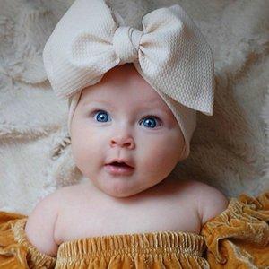 Fashion Baby Girls Big Bow Headbands Elastic Bowknot Hairbands Headwear Kids Headdress Head Bands Newborn Turban Head Wraps Wkha01 BzEpi