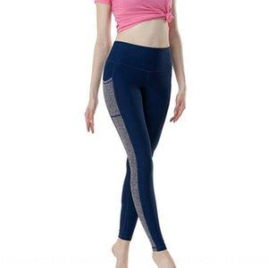 2019 verão nova multi-contraste cor esportes mosaico yoga calças apertadas calças apertadas Yiwu leggings mulheres