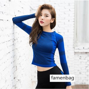 Yoga Clothing Top Female Slim Fit Slim Sexy Speed Dry Breathable Fitness Running Sports Long Sleeve T Shirt