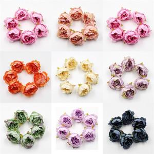 Riche couleur artificielle Fleurs Scenerys Corolle mariage fête d'anniversaire de mur Décor Artisanat Props Fournitures Jolie 0 52yj E2