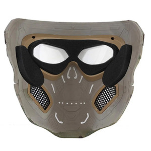 WoSporT Skull Airsoft Mask Halloween Party Full Face Mask tactique
