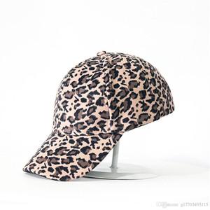 Women's Leopard Baseball Cap Cap Gray Beige Khaki Hat Wholesale
