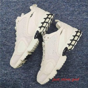 2020 New Authentic Zoom Spiridon Caged PURE PLATINUM FOSSIL Women Men xshfbcl Running Shoes Sports Sneakers CQ5486-200 CU1854-001