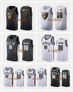 Brooklyn personalizadaNetsHombres Mujeres Joven 100% CIUDAD bordadoAsociación NBA Declaración del icono del baloncesto de Jersey S-6XL