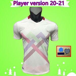플레이어 버전 2020 2021 스위스 홈 멀리 흰색 축구 유니폼 (20) (21) SEFEROVIC FREULER 셔 키리 LANG EMBOLO 스위스 스위스 축구 셔츠