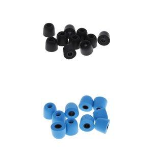 20x 4,5 milímetros Eartips Bud Earbud Earplug Memory Foam Set Para fone de ouvido inear