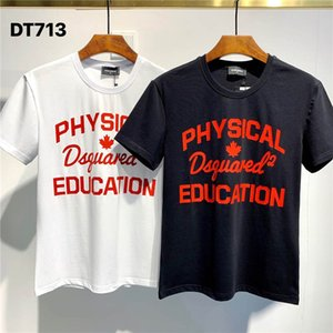 SS20 New Arrival Top Quality D2 Clothing Men's T-Shirts Print street wear Tees Short Sleeve M-3XL DT713